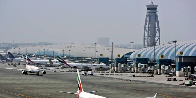 """Media reps for the world's busiest airport for international travel confirmed that flights from 10:13 a.m. to 10:45 a.m. on Friday over """"suspected drone activity."""""""