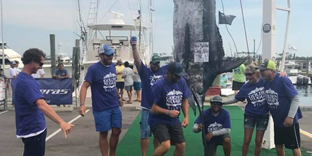 """Out of the 117 boats in the tournament, I mean, only half of them really have a chance at winning. The best anglers and fishermen in the Gulf of Mexico were there this weekend,"" Pate mused of the big win."