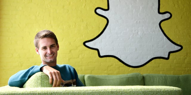 Snapchat CEO Evan Spiegel in Los Angeles. Hackers reportedly published 4.6 million Snapchat usernames and phone numbers on a website called snapchatdb.info, which has since been suspended.