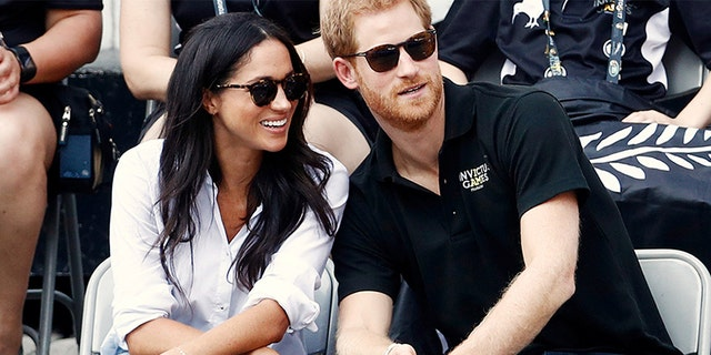 Meghan Markle and Prince Harry attend in the 2017 Invictus Games in Toronto, Canada.