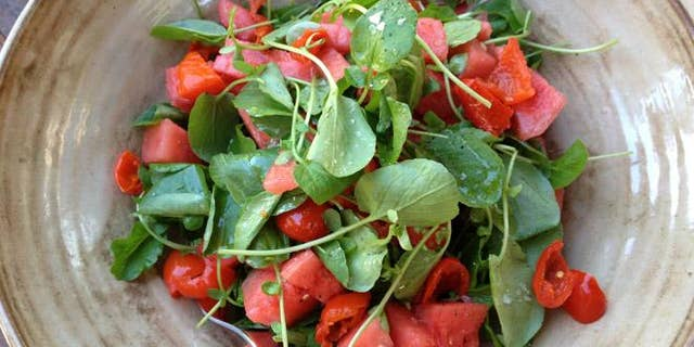 Enjoy this light and refreshing salad outdoors this summer.