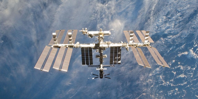 Sunday's spacewalk is the first of two upcoming maintenance spacewalks planned for the International Space Station.  (Reuters/NASA/Handout)
