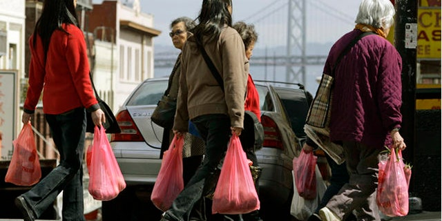 California became the first state in the U.S. to ban single-use plastic bags in 2015.