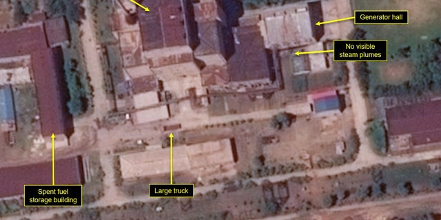 """New satellite imagery indicates North Korea is making improvements to one of its nuclear scientific research centers at a """"rapid pace,"""" a report claims."""