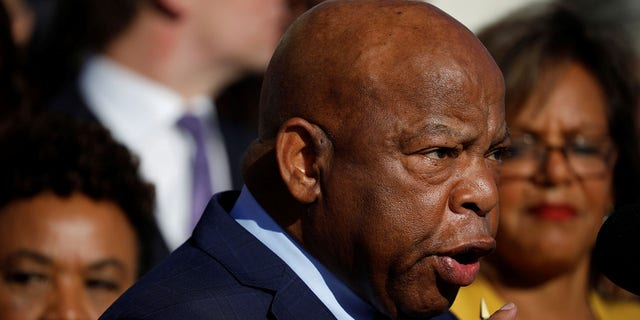 Rep. John Lewis is also boycotting the State of the Union.