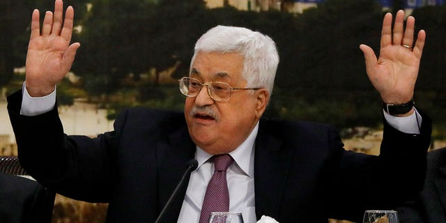 Palestinian Authority President Mahmoud Abbas gave a fiery speech this month, blasting the U.S. and Israel.
