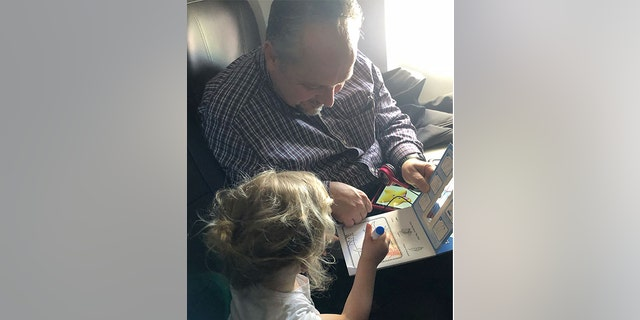 """""""Flying is stressful. I had little kids once. I think most people on that plane have had little kids themselves."""""""