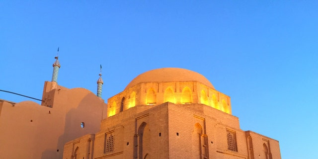 The historic Jameh Mosque of Yazd