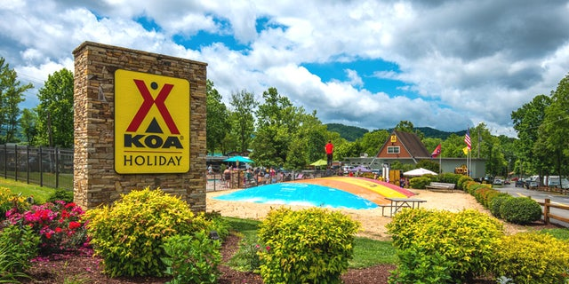 KOA Holiday in Pigeon Forge, Tennessee