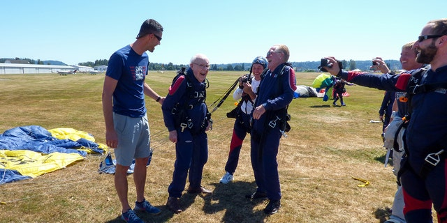 """""""I'd done lots of things, but I'd never jumped out of an airplane,"""" Williamson remembered thinking before his first foray into skydiving."""