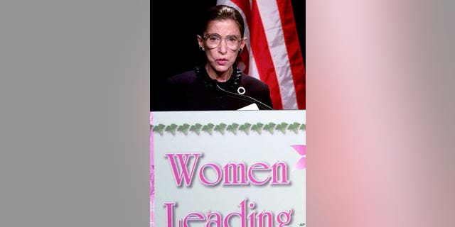 Justice Ruth Bader Ginsburg has fought for women's rights over the years.