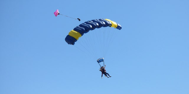 """""""After the parachute opens, he is a completely different person,"""" Williamson's skydiving instructor Vladimir Ursachii said."""