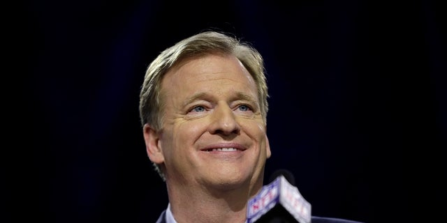 Roger Goodell was blamed by Dallas Cowboys owner Jerry Jones of escalating national anthem protests.