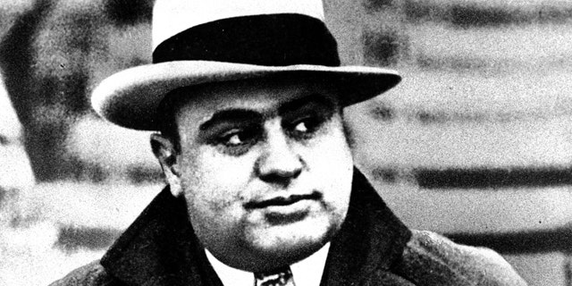 Capone was widely thought to have ordered the St. Valentine's Day Massacre hit, but the gangster was careful to make sure he was in Florida when the killing started. (Associated Press)