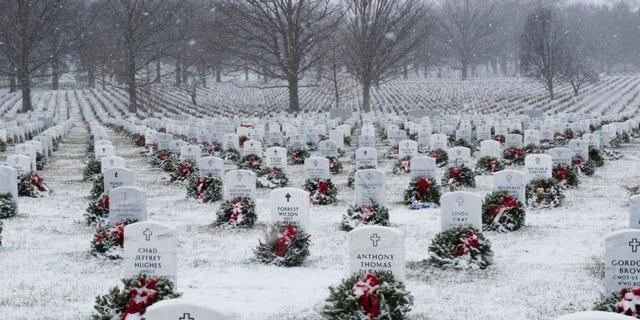 Arlington National Cemetery in Virginia.