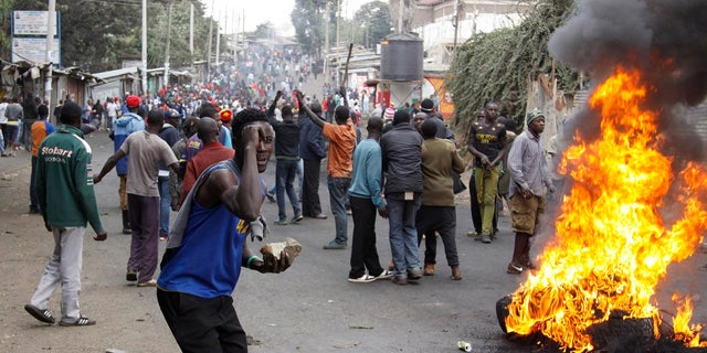 Violent demonstrations took place in Kenya following the presidential election.