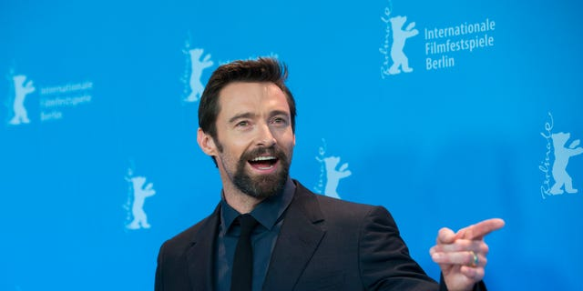 """""""X-Men"""" star Hugh Jackman told Stephen Colbert Monday that he didn't know that wolverineswere real animals."""