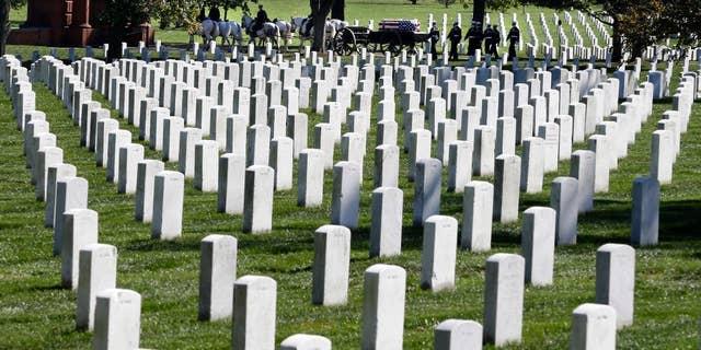 Arlington National Cemetery in 2012.