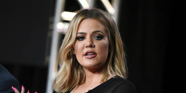 "FILE - In this Jan. 6, 2016, file photo, Khloe Kardashian participates in the panel for ""Kocktails with Khloe"" at the FYI 2016 Winter TCA in Pasadena, Calif. Kardashian is calling her sister's robbery on Oct. 3, in Paris ""a wake up call for everybody"" but is pushing back against criticism that Kim Kardashian West had been too public in displaying her wealth. (Photo by Richard Shotwell/Invision/AP, File)"