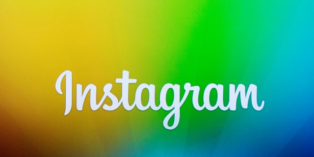 File photo: A screen displays the Instagram logo during a presentation in New York December 12, 2013. (REUTERS/Lucas Jackson)