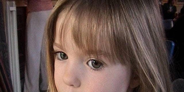 This March 2007 photo shows three-year-old British girl Madeleine McCann.