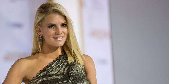 Jessica Simpson shared the sweet snap of her and her daughters Maxwell and Birdie Mae on Tuesday.