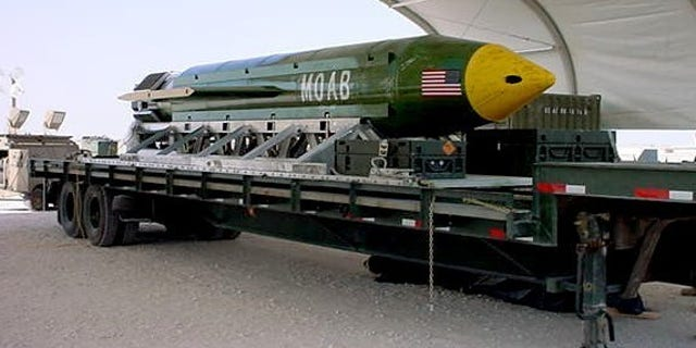 """Both U.S and Afghan Forces participated in the dropping of the """"Mother of All Bombs"""" (MOAB) in ISIS hideouts in Afghanistan earlier this year."""
