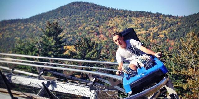 The beautiful Attitash Mountain Resort in Mt. Washington