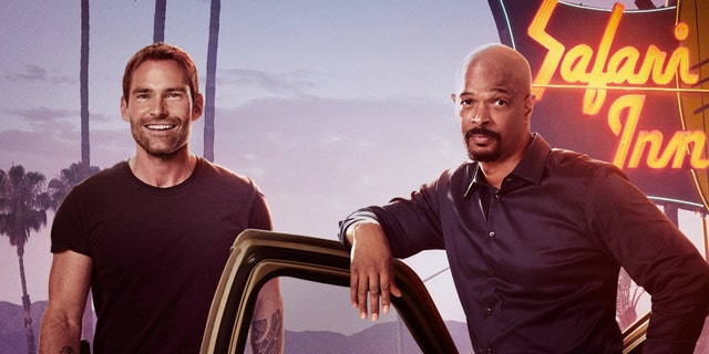 Seann William Scott in the new promotion for 'Lethal Weapon'