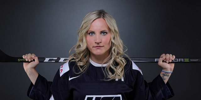 "Hockey player Monique Lamoureux-Morando says she'd ""absolutely"" wear black at Pyeongchang."