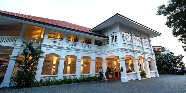 The Trump-Kim summit is slated to take place at the Capella Hotel on Sentosa Island in Singapore.