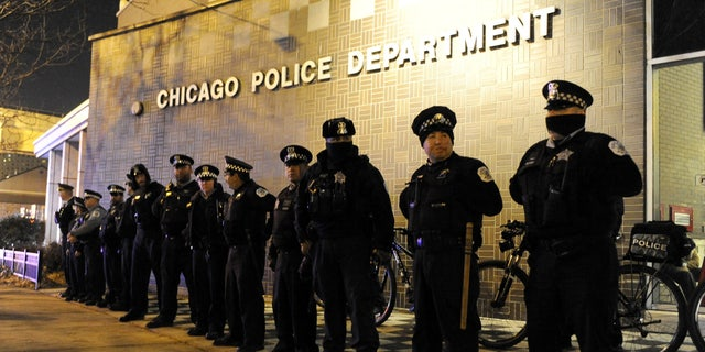 Chicago police in November 2015.