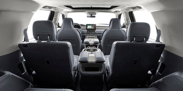 The Navigator has an enormous cabin for cargo and passengers.