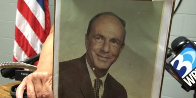 Amos Shook disappeared in 1973, but authorities believe they have found his remains. (Caldwell County Sheriff's Office)