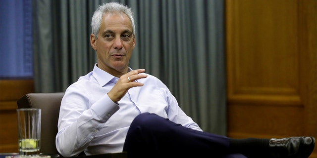 """A Chicago police union claims that the city's Mayor Rahm Emanuel has """"turned their back"""" on them."""