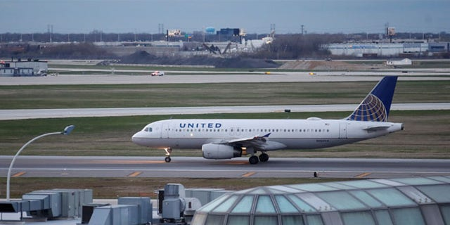 FILE: A United Airline Airbus A320 aircraft lands at O'Hare International Airport in Chicago.