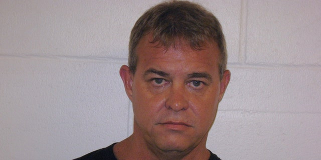 Authorities arrested alleged suspect 48-year-old John Kelley O'Connor for the shooting that left one person dead and another injured at a Mormon church on Sunday in Nevada. (Churchill County Sheriff's Department)