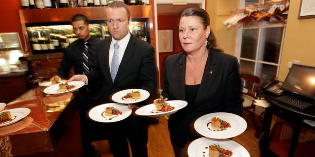 May 11, 2012: Foie Gras dishes are served at Sent Sovi in Saratoga, prior to the ban.