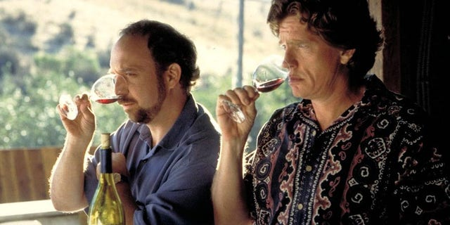 """The film """"Sideways"""" has become a seminal wine movie for anyone who is serious about their wines and their movies."""