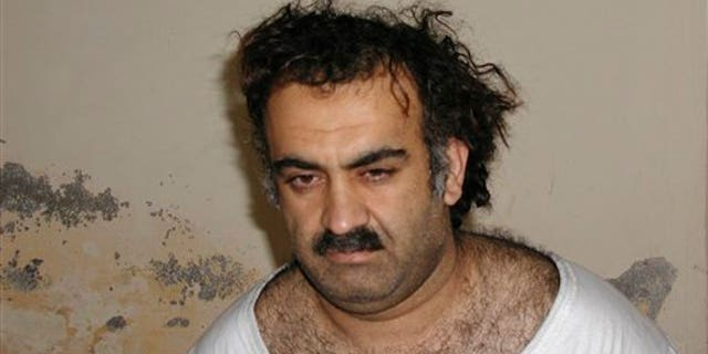 Khalid Sheikh Mohammed, an alleged Al Qaeda mastermind behind the Sept. 11, 2001 attacks.