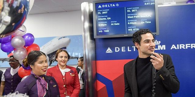 Zac Posen himself shadowed Delta staffers through the design process.