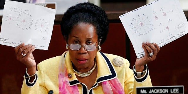 Rep. Sheila Jackson Lee, R-Texas, charged that the GOP will oust Deputy Attorney General Rod Rosenstein 'on Friday.'