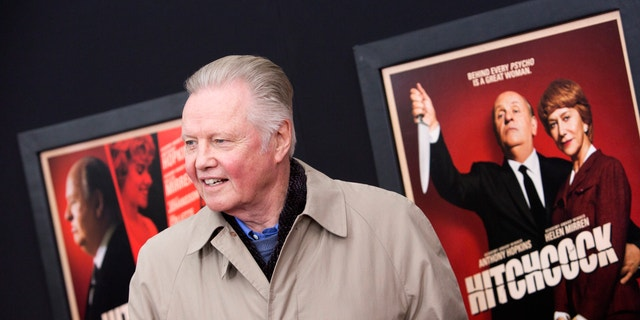 """Actor Jon Voight attends the film premiere of """"Hitchcock"""" in New York November 18, 2012."""