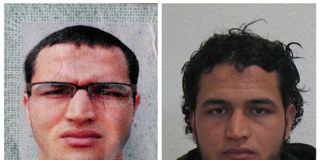 Authorities released two new images of Anis Amri, the suspect in Monday's attack in Berlin.
