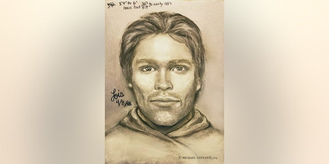 Stormy Daniels and her attorney released this sketch on Tuesday of a man she said threatened her at a Las Vegas parking lot in 2011.