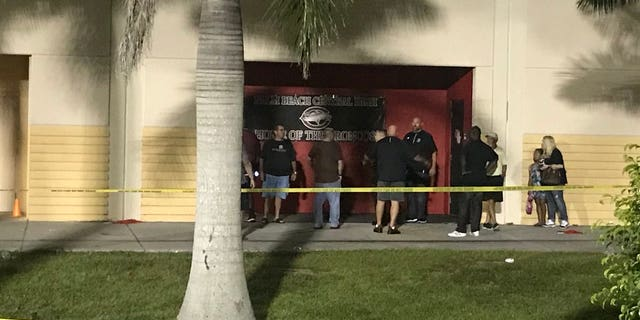 Gunshots erupted at a Florida high school Friday night during a football game, multiple reports said.