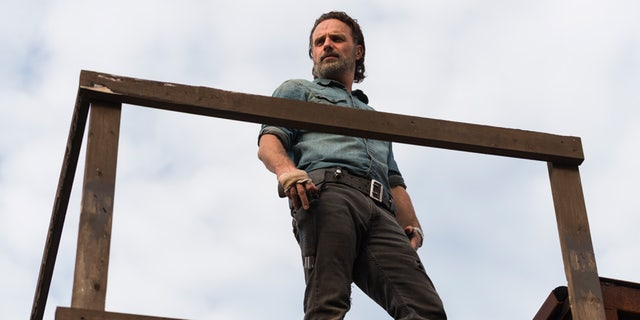 """Andrew Lincoln stars as Rick Grimes in AMC's """"The Walking Dead."""""""