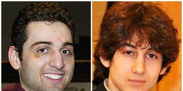 The FBI said Tamerlan Tsarnaev, left, and Dzhokhar Tsarnaev killed three people when they bombed the Boston Marathon finish line.