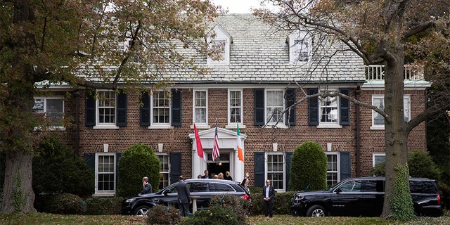 The six-bedroom, 2.5-story Colonial home will be used by Prince Albert and his family whenever they visit Philadelphia.
