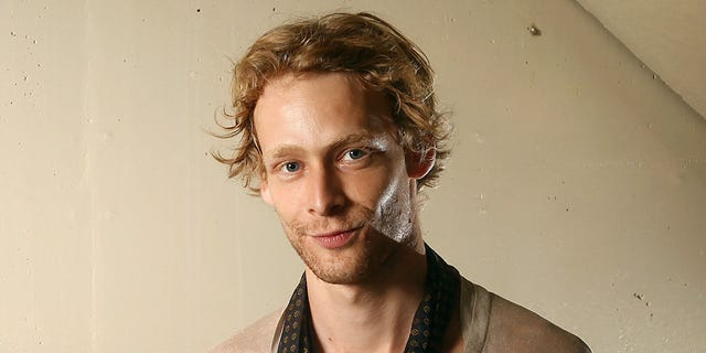Sept. 14, 2011: File photo shows actor Johnny Lewis posing for a portrait during the 36th Toronto International Film Festival in Toronto, Canada. Authorities say Lewis fell to his death after killing an elderly Los Angeles woman.